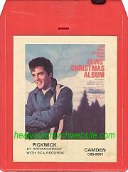 Elvis' Christmas Album 8 Track Stereo Tape