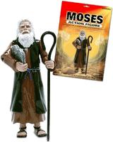 12 days of Jesus Junk - day 10 - Moses Action Figure