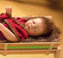 lifelike baby Jesus doll