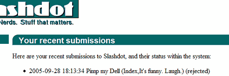 proof that slashdot is clueless as to what is fun and funny