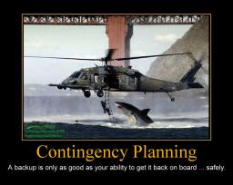 Bad church web design poster 0008 - contingency planning
