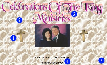 Click here to see the full-sized Celebration of the King Ministries - rocking like it's 1999