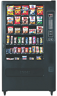Office vending machine filled with stuff nobody wants.