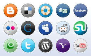 Social media icons galore!